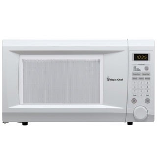 Magic Chef MCD1110WB White Countertop Microwave