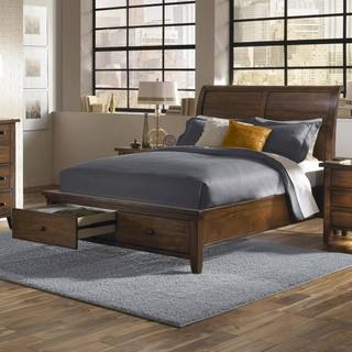 Camden Sleigh Storage Bed