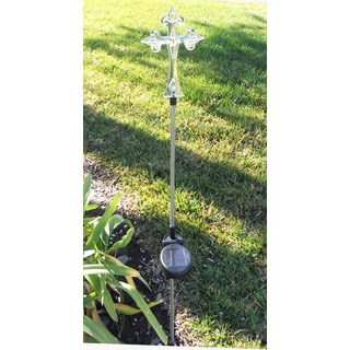 Tricod Cross Solar Light Garden Stake (Set of 2)