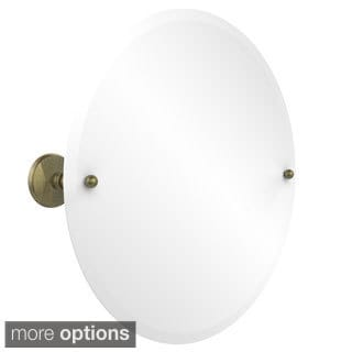 Prestige Monte Carlo Collection Unframed Round Tilt Wall Mirror