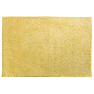 Brights Collection Yellow Area Rug (4' x 6')
