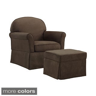 Baby Relax Swivel Glider and Ottoman Set