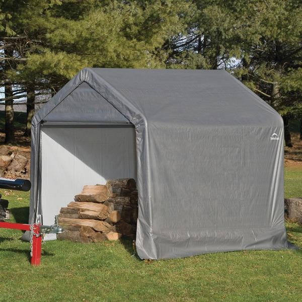 ShelterLogic 70401 Shed and Storage Series Grey Peak Shed
