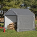 ShelterLogic 70401 Shed and Storage Series Grey Peak Shed