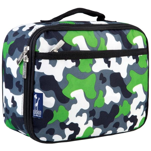 Wildkin Green Camo Lunch Box