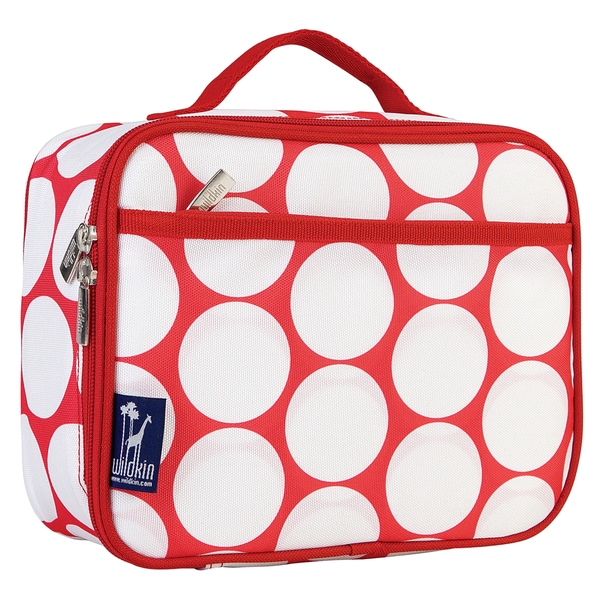 Wildkin Big Dot Red/ White Lunch Box
