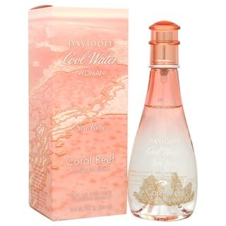 Zino Davidoff Cool Water Sea Rose Coral Reef Women's 3.4-ounce Eau de Toilette Spray (Limited Edition)