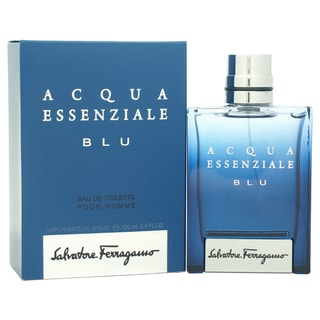 Salvatore Ferragamo Acqua Essenziale Blu Men's 3.4-ounce Eau de Toilette Spray