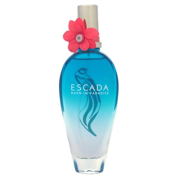 Escada Born in Paradise Women's 3.3-ounce Eau de Toilette Spray (Limited Edition) (Tester)