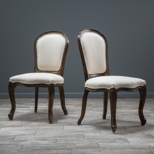 Christopher Knight Home Maryland Weathered Wood Dining Chair Set Of 2 Overstock Shopping