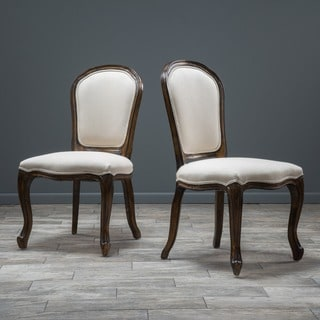 Christopher Knight Home Maryland Weathered Wood Dining Chair (Set of 2)