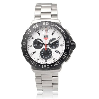 Tag Heuer Men's Stainless Steel 'Formula 1' Chronograph Link Watch