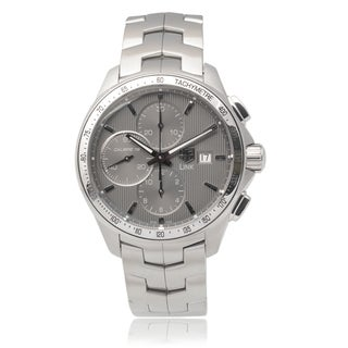 Tag Heuer Men's Stainless Steel 'Link Calibre 16' Chronograph Watch