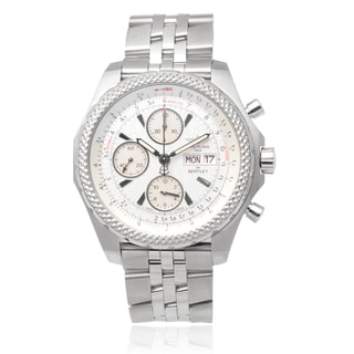 Breitling Men's Stainless Steel 'Bentley GT' Chronograph Watch