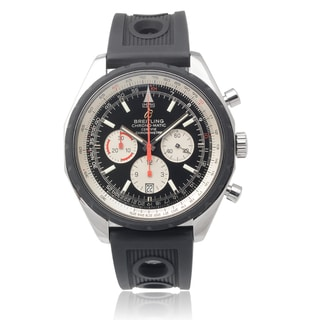 Breitling Men's Stainless Steel 'Chrono-matic' Chronograph Watch