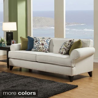 Furniture of America Kenzi Chenille Fabric Sofa