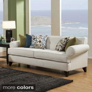 Furniture of America Kenzi Chenille Fabric Sofa