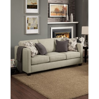 Furniture of America Kalisie Modern Chenille Sofa