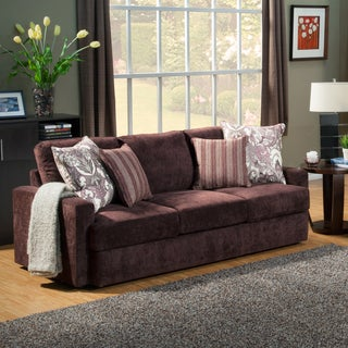 Furniture of America Tarah Transitional Chenille Sofa