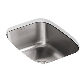 Kohler Undertone 16-1/4 x 20-1/2 Stainless Steel Undercounter Kitchen Sink