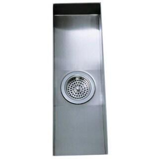 Kohler Undertone Undermount Stainless Steel 8-1/4 x 22 x 5.25 0-hole Single Bowl Kitchen Sink