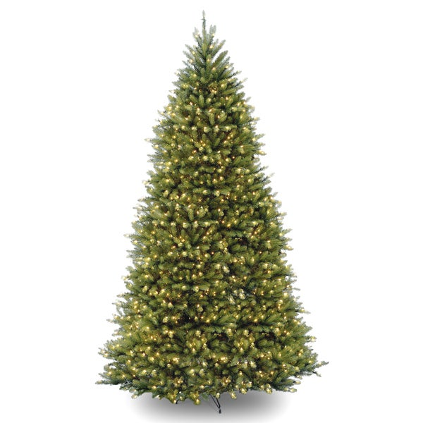 10-foot Dunhill Fir Tree with 1200 Clear Lights