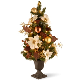 3-foot Decorative Collection Inspired by Nature Entrance Tree with Clear Lights