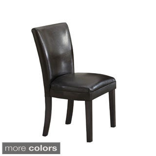 Parsons Plush Upholstered Dining Chair