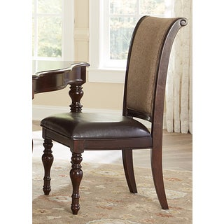 Liberty Plantation Cherry Upholstered Side Chair