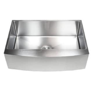 Starstar Farmhouse Apron Single Bowl 16 Gauge Stainless Steel Kitchen Sink