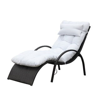 Otello Whtie Outdoor Lounge Chair