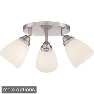 Triad 3-light Small Flush Mount