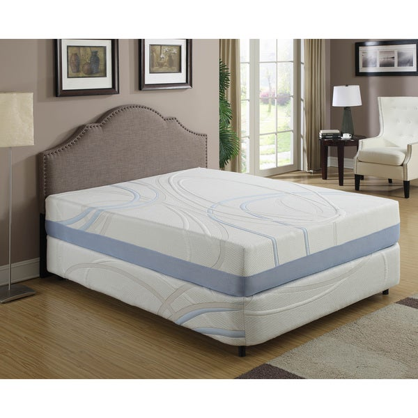 12-inch California King-size Gel Memory Foam Mattress