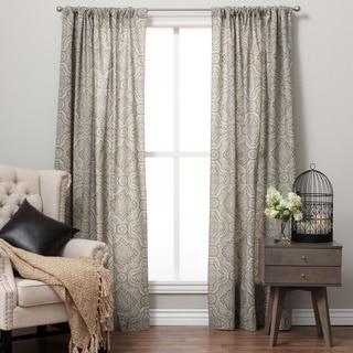 Bohemian Cotton Print Rod Pocket Curtain Panel