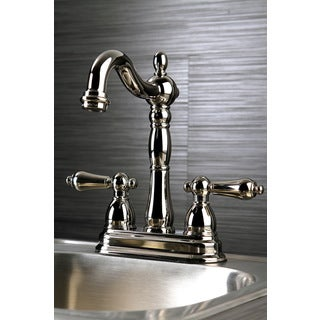 Victorian Polished Nickel Bar Faucet