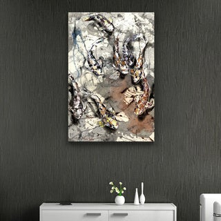 Luba Lowry 'Koi Expedition' Canvas Art Print