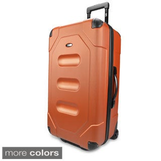 U.S. Traveler by Traveler's Choice Long Haul 28-inch Large Hardside Rolling Cargo Trunk Upright Suit