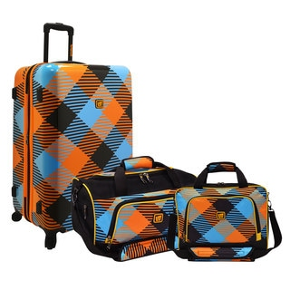Loudmouth Microwave 3-piece Nested Luggage Set