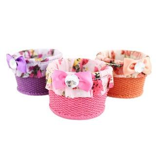 Jacki Design Bella Rosa Small Jewelry Basket