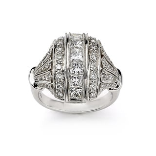 Diamonds For A Cure by Neda Behnam 18k White Gold 4 7/8ct TDW Diamond Ring (G-H, SI1-SI2)