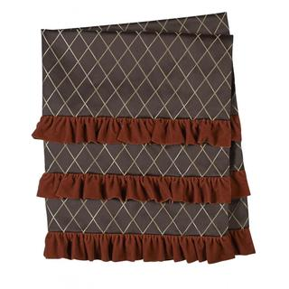 Jennifer Taylor Brown Jacobean Throw Blanket