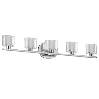 Dainolite 5-light Glass Vanity Fixture