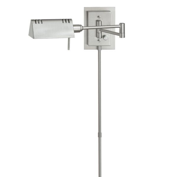 Dainolite Single-light Swing Arm Wall Lamp