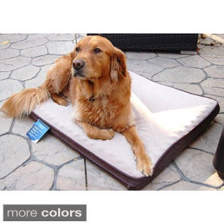 Lee Large 40-inch Orthopedic Rectangle Pet Bed
