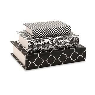 Essentials Black Book Boxes
