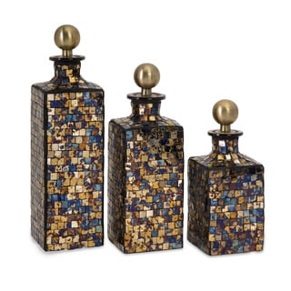 Moulin Mosaic Bottles (Set of 3)