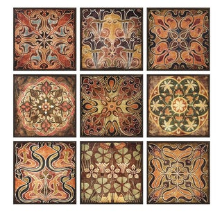 Tuscan Wall Panels (Set of 9)