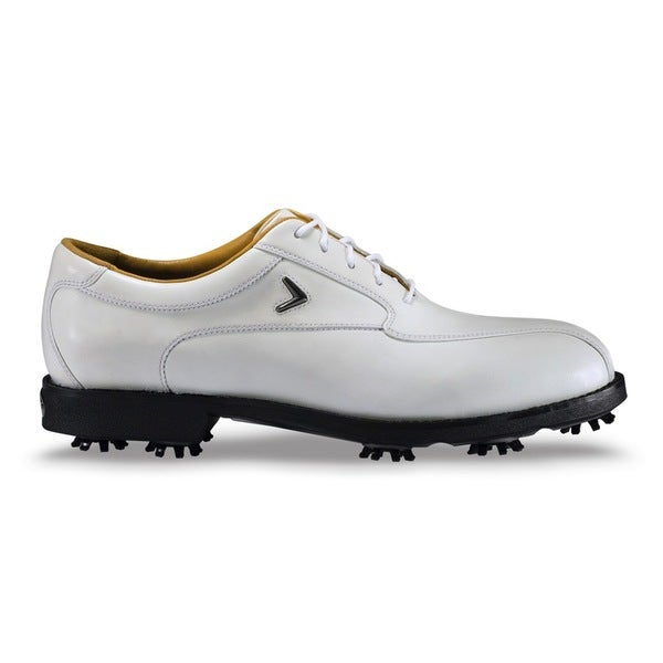 Callaway Men's Tour Staff White /White Golf Shoes