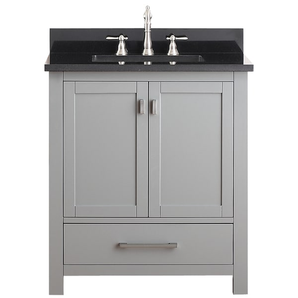 Avanity Modero 30 Inch Vanity Combo Overstock Shopping Great Deals On Bath Vanities