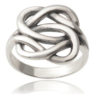 Tressa Collection Sterling Silver Knot Ring